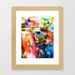 I am the son, and the heir Framed Art Print