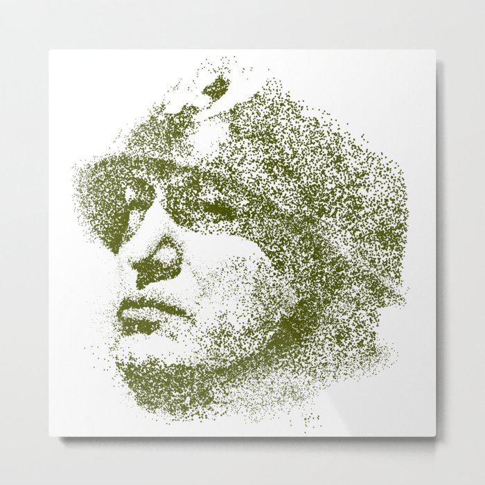 Mussolini For President Metal Print
