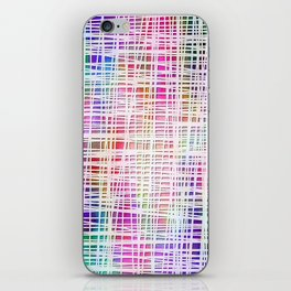 DP034-3 Colorful striped iPhone Skin