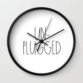 Unplugged Wall Clock