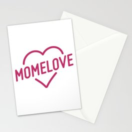 Pink Mome Love Stationery Cards