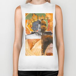 Hybridity Race and Womanhood: Selves (Detail 1) Biker Tank