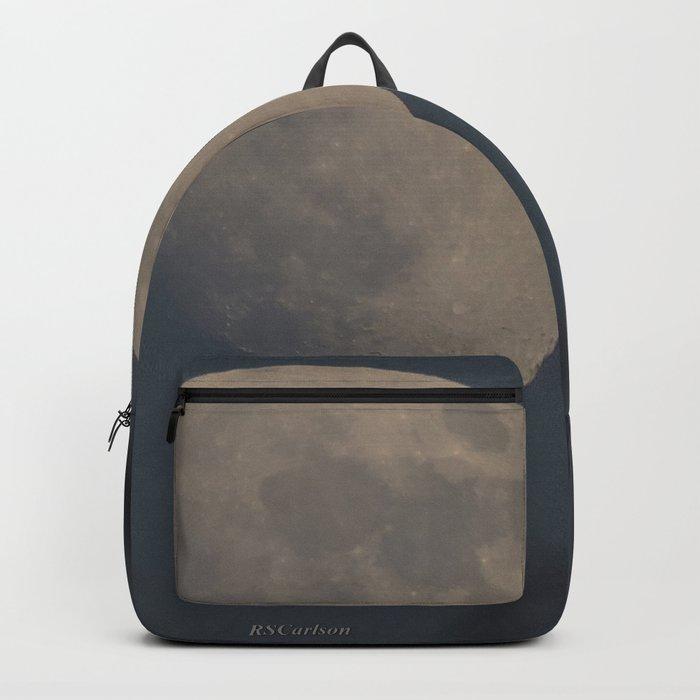 Moon at Three-Quarters Backpack