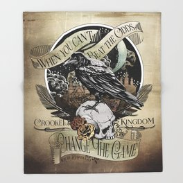 Crooked Kingdom - Change The Game Throw Blanket