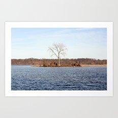 Little Island Art Print