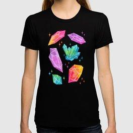 Watercolor Crystals T-shirt