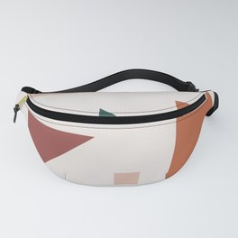 Abstract Geometric 30 Fanny Pack