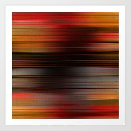 """""""Abstract Autumn Porstroke (Pattern)"""" Art Print"""