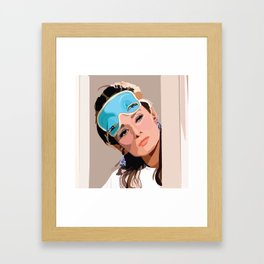 Thursday Mood Framed Art Print