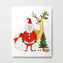 Always Christmas Metal Print