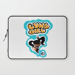 Lung Girl 2 Laptop Sleeve