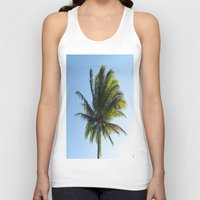 palm Tank Tops featuring Palm by Percival