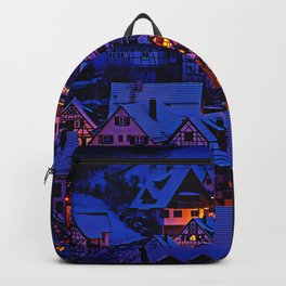 clasic architecture city Backpack