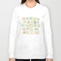 frames Long Sleeve T-shirts featuring Frames by maria carluccio