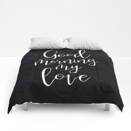 Good Morning My Love #Love #valentines Comforters