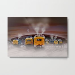 Napiers in the Mist Metal Print