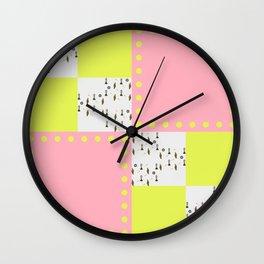 Ticky Tacky  Wall Clock