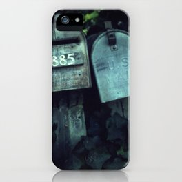 Mailboxes in Love iPhone Case