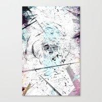 introvert Canvas Prints featuring Introvert by miguelnarayan