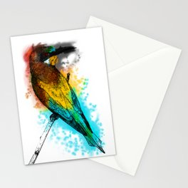 i am the bird am i? Stationery Cards