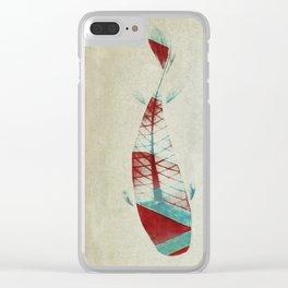 反対派 (opponents) Clear iPhone Case