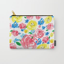 Watercolor roses Carry-All Pouch