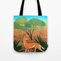 Ethiopian Wolf Tote Bag