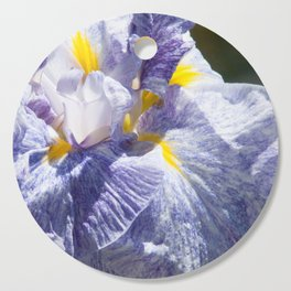 The love of the Iris by Teresa Thompson Cutting Board