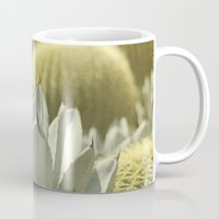 cactus Mugs featuring Succulent by Pure Nature Photos