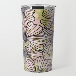 flowers 2 Travel Mug