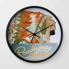 Roadside Relics Wall Clock