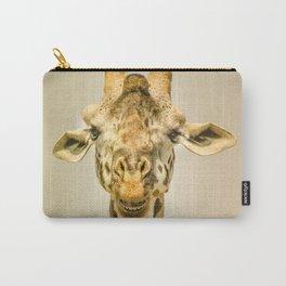 Giraffa's portrait Carry-All Pouch