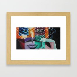 Le Masque  Framed Art Print