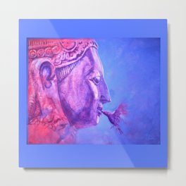Buddha Kiss (Original) Metal Print