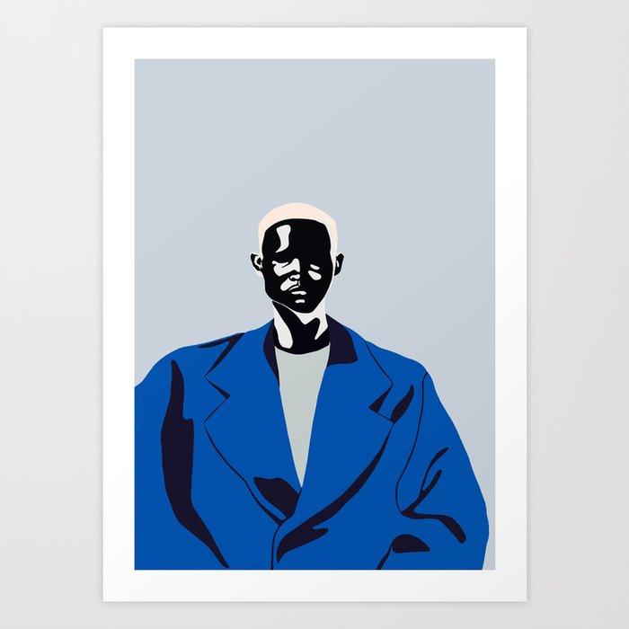 Blue coat Kunstdrucke