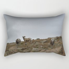 Patriarch of the Rubble Rectangular Pillow