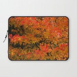 Maple Flames Laptop Sleeve