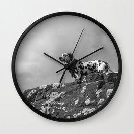 Dalmatian. Wall Clock