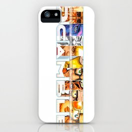 Scamble iPhone Case