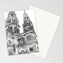 Capilla esgrafiada Stationery Cards