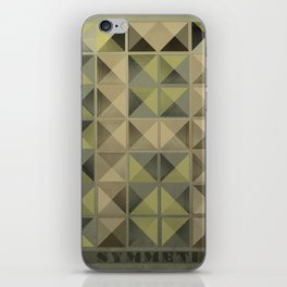 Asymmetry iPhone Skin