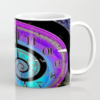 mandie manzano Mugs featuring Back in time by JT Digital Art