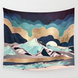 Indigo Spring Wall Tapestry