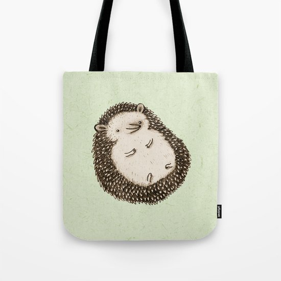 Plump Hedgehog Tote Bag