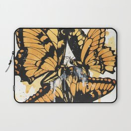 """Remnants"" series, V (Butterflies) Laptop Sleeve"