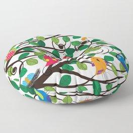 Birds Floor Pillow