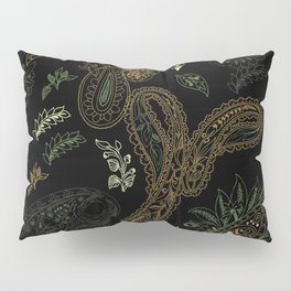 Cactus Garden Paisley 1 Pillow Sham