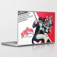 revolution Laptop & iPad Skins featuring Revolution! by yamineftis