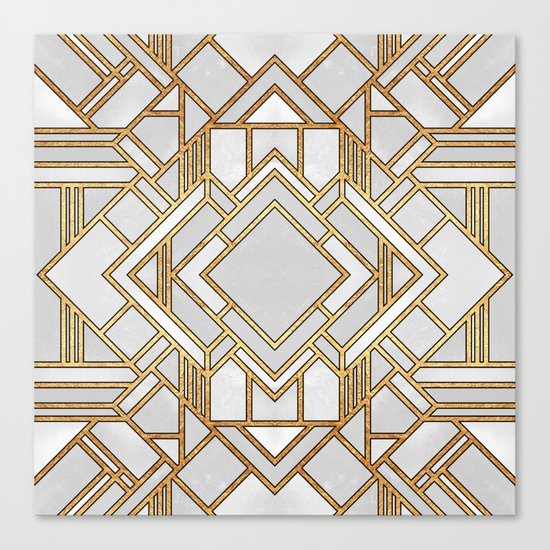 Art Deco 1 Canvas Print