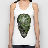 data Tank Tops featuring Bad data by GrandeDuc